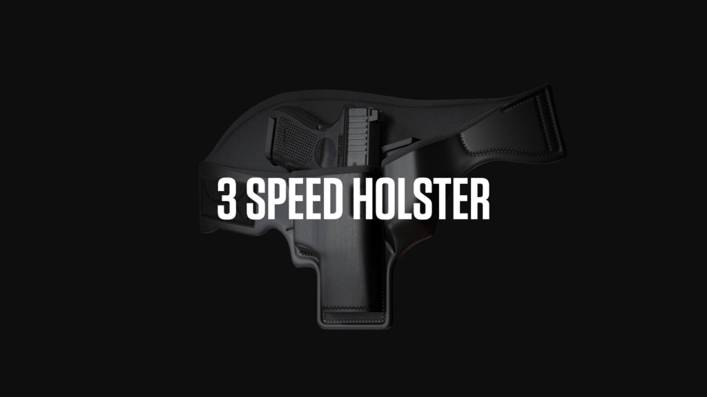 3 Speed Holster Web Design Preview