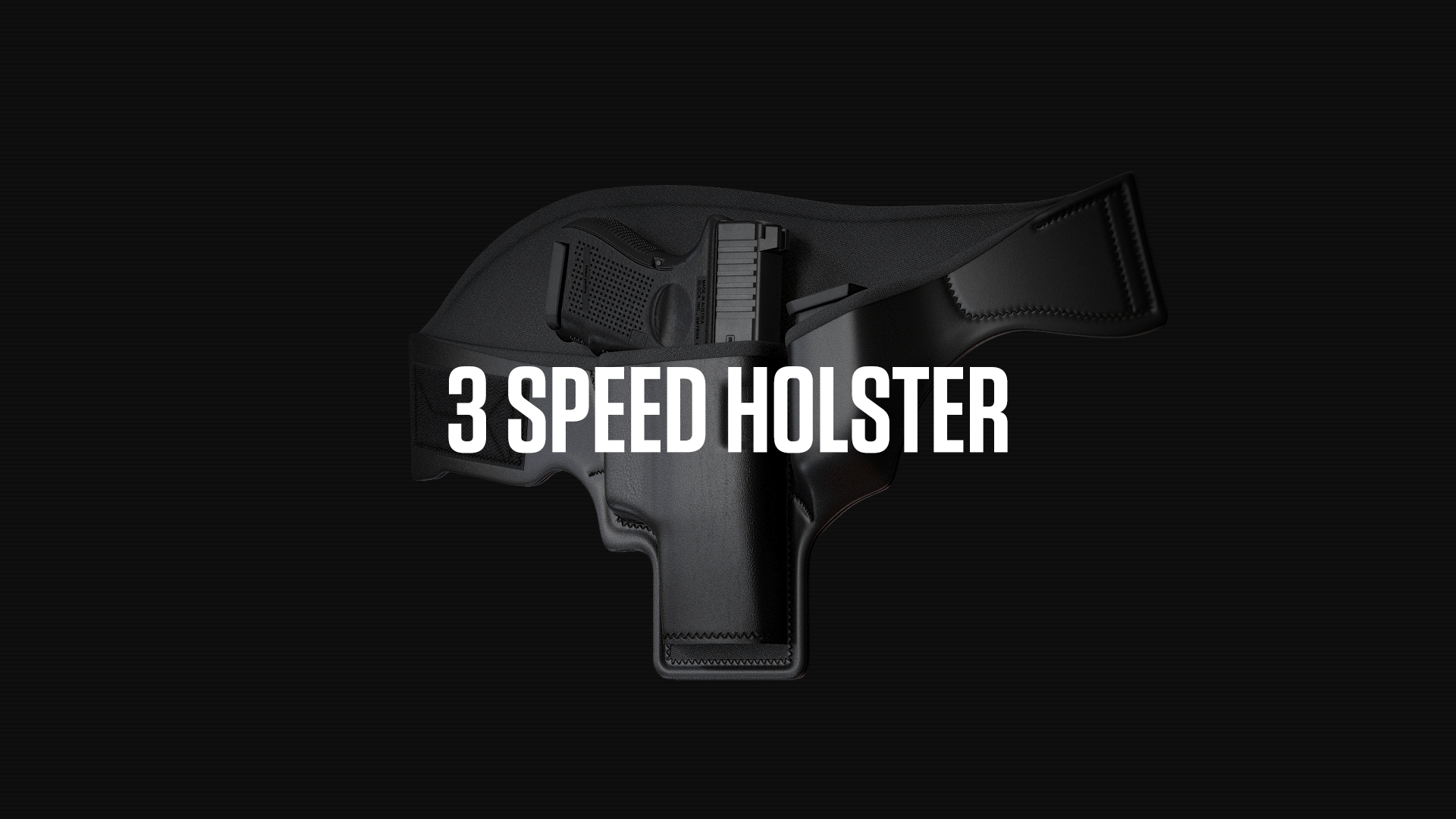 3 Speed Holster Website Design Preview