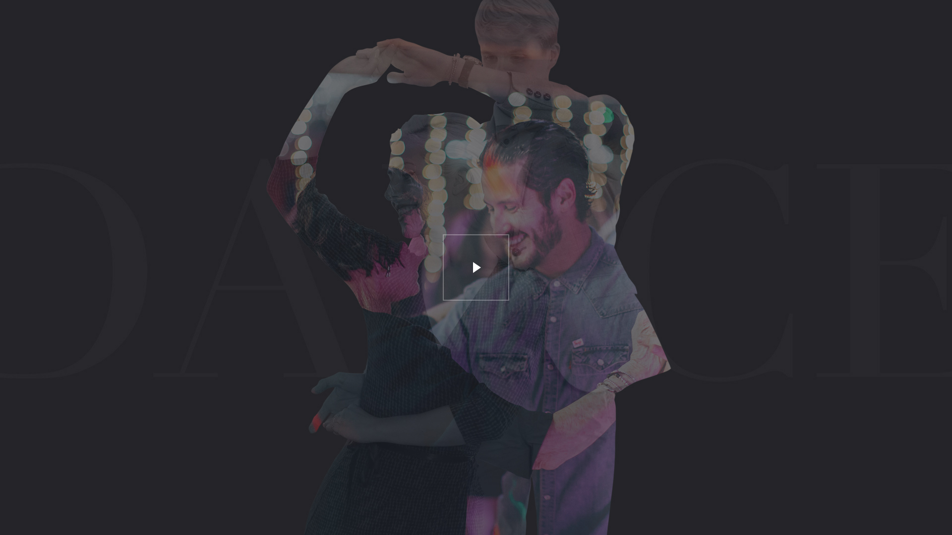Dance With Me Website Design Preview