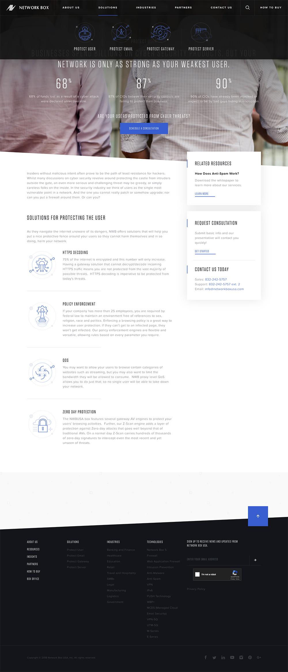 Network Box Web Design