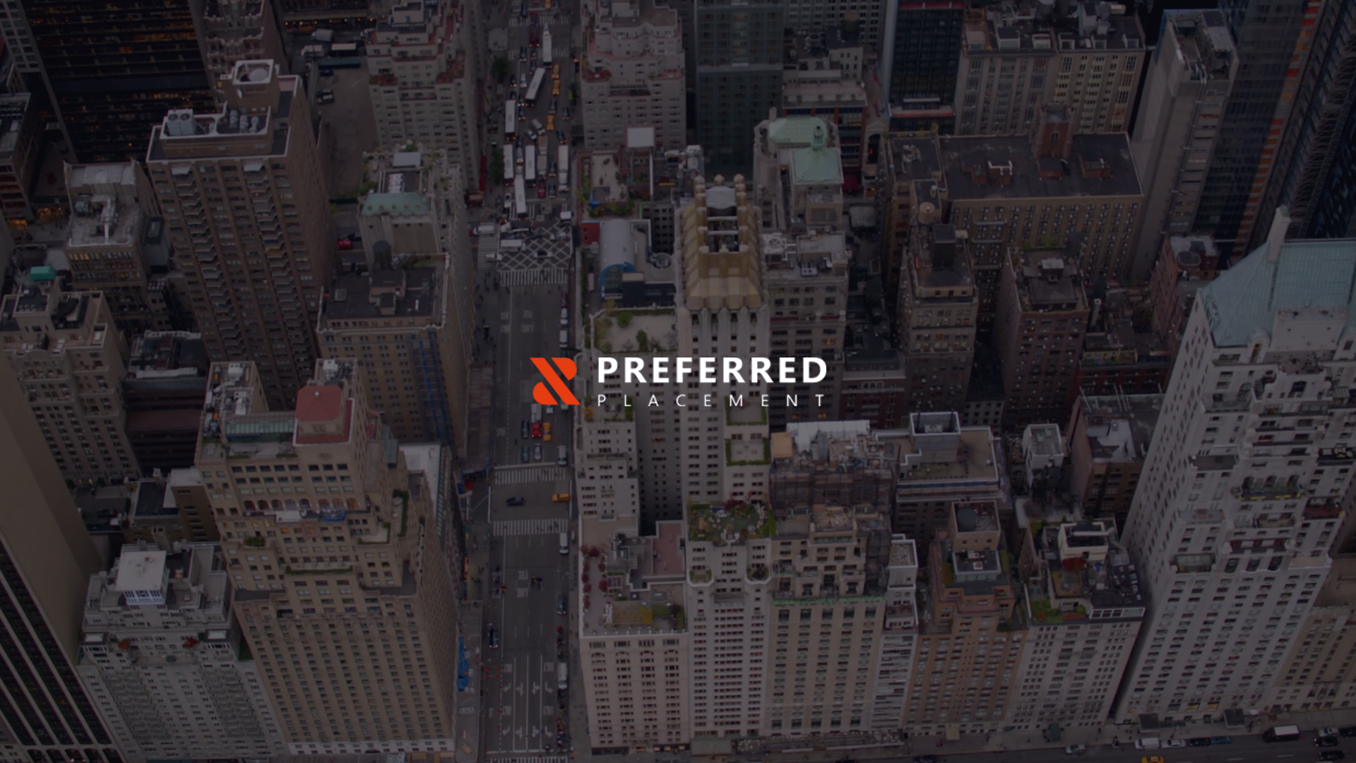 Preferred Placement Website Design Preview