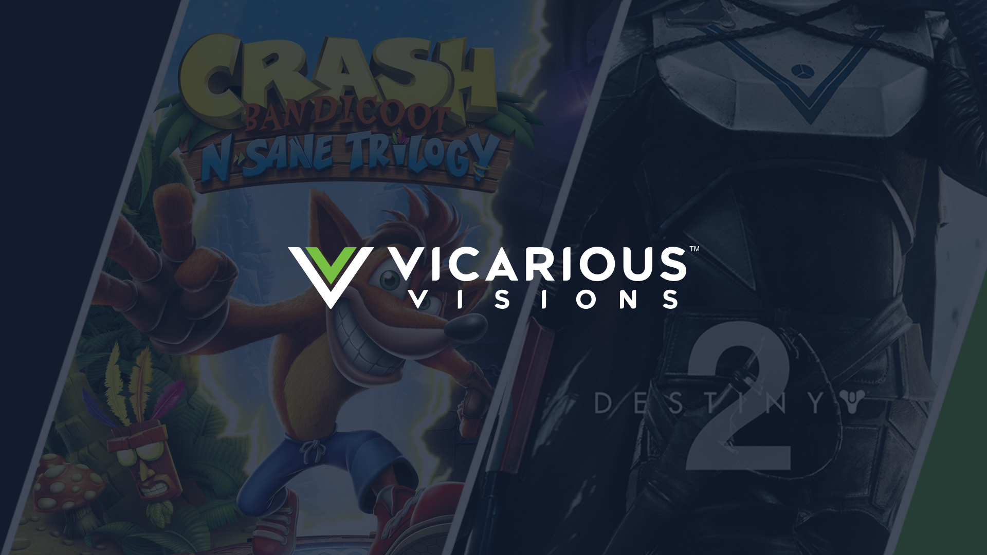 Vicarious Visions Website Design Preview