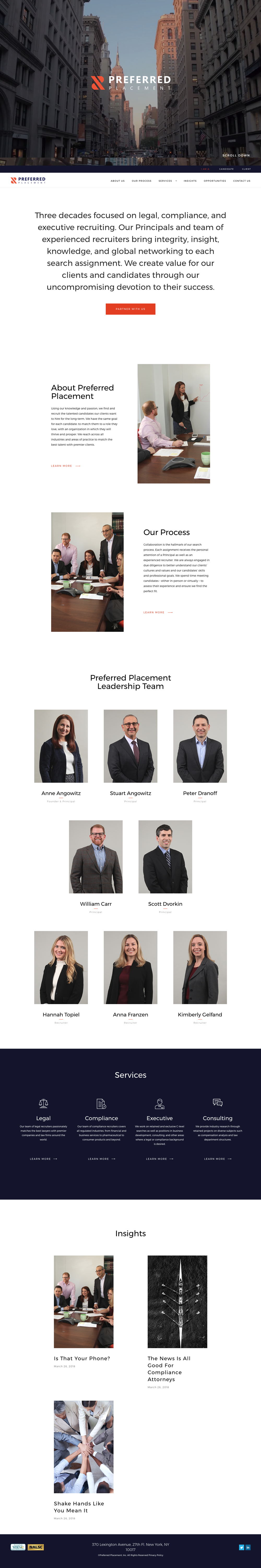 Preferred Placement Web Design