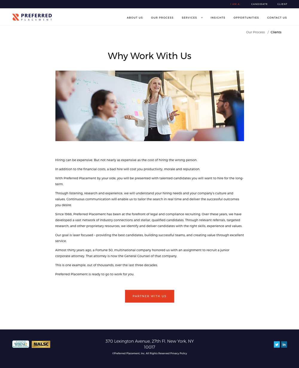 Preferred Placement Web Design