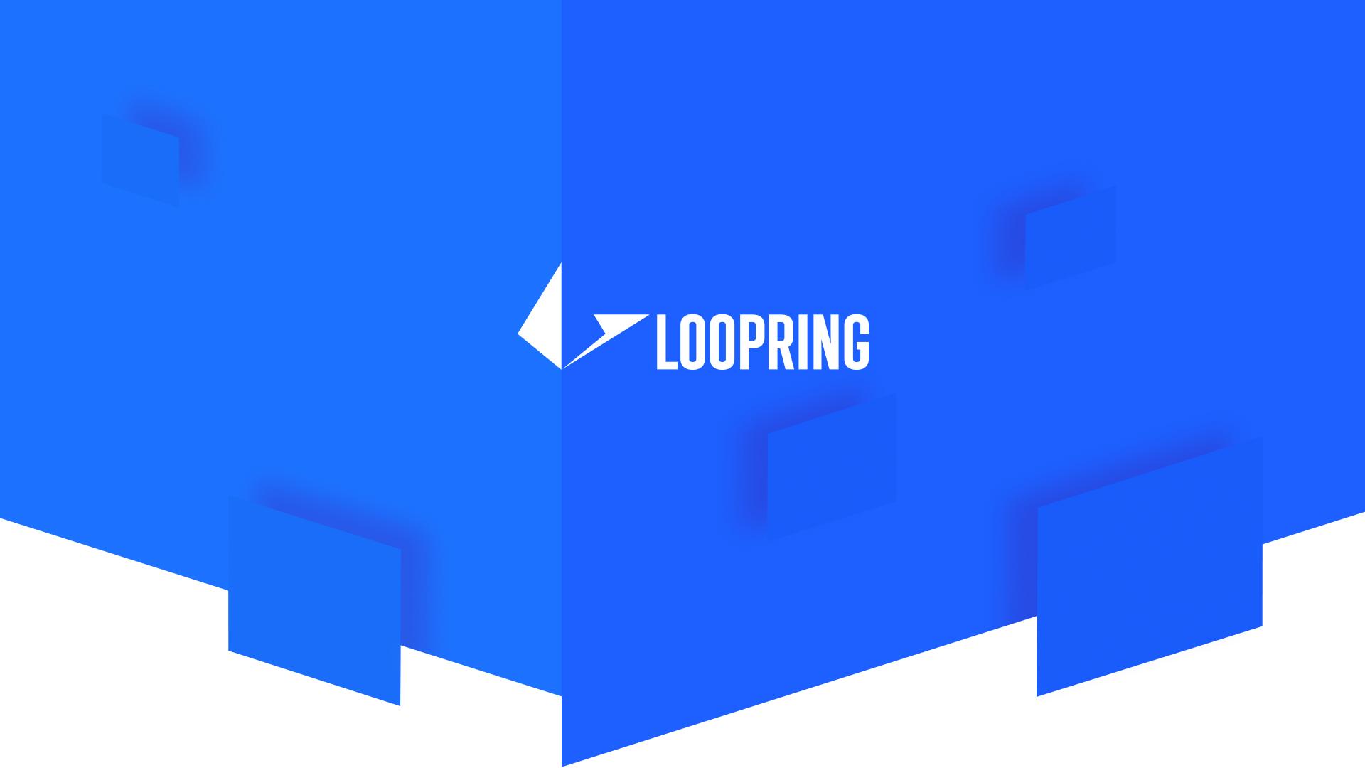 Loopring Website Design Preview