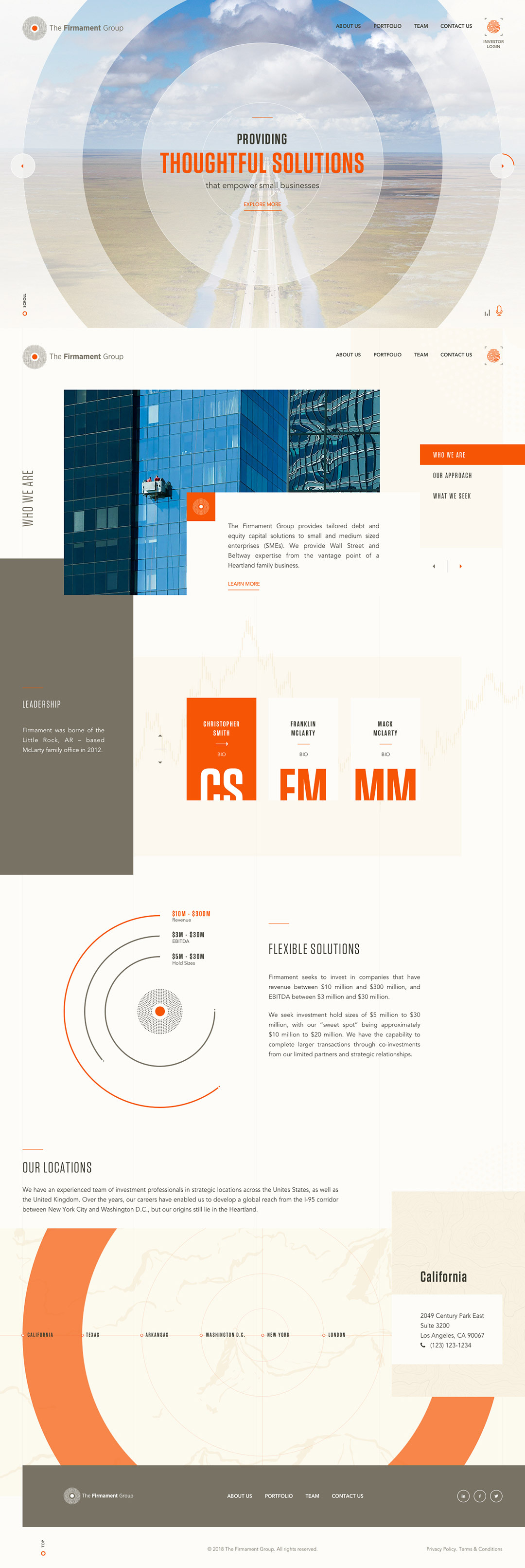 The Firmament Group Web Design