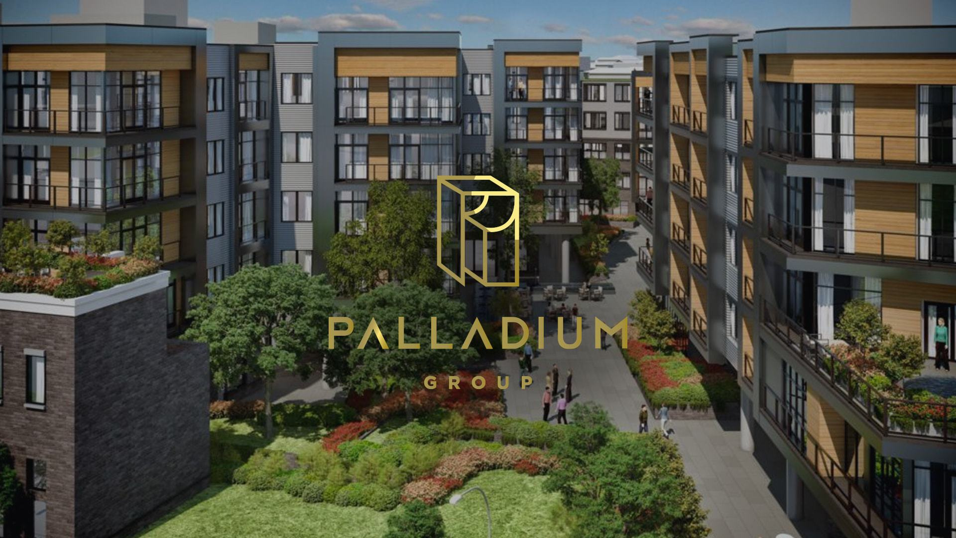 Palladium Website Design Preview