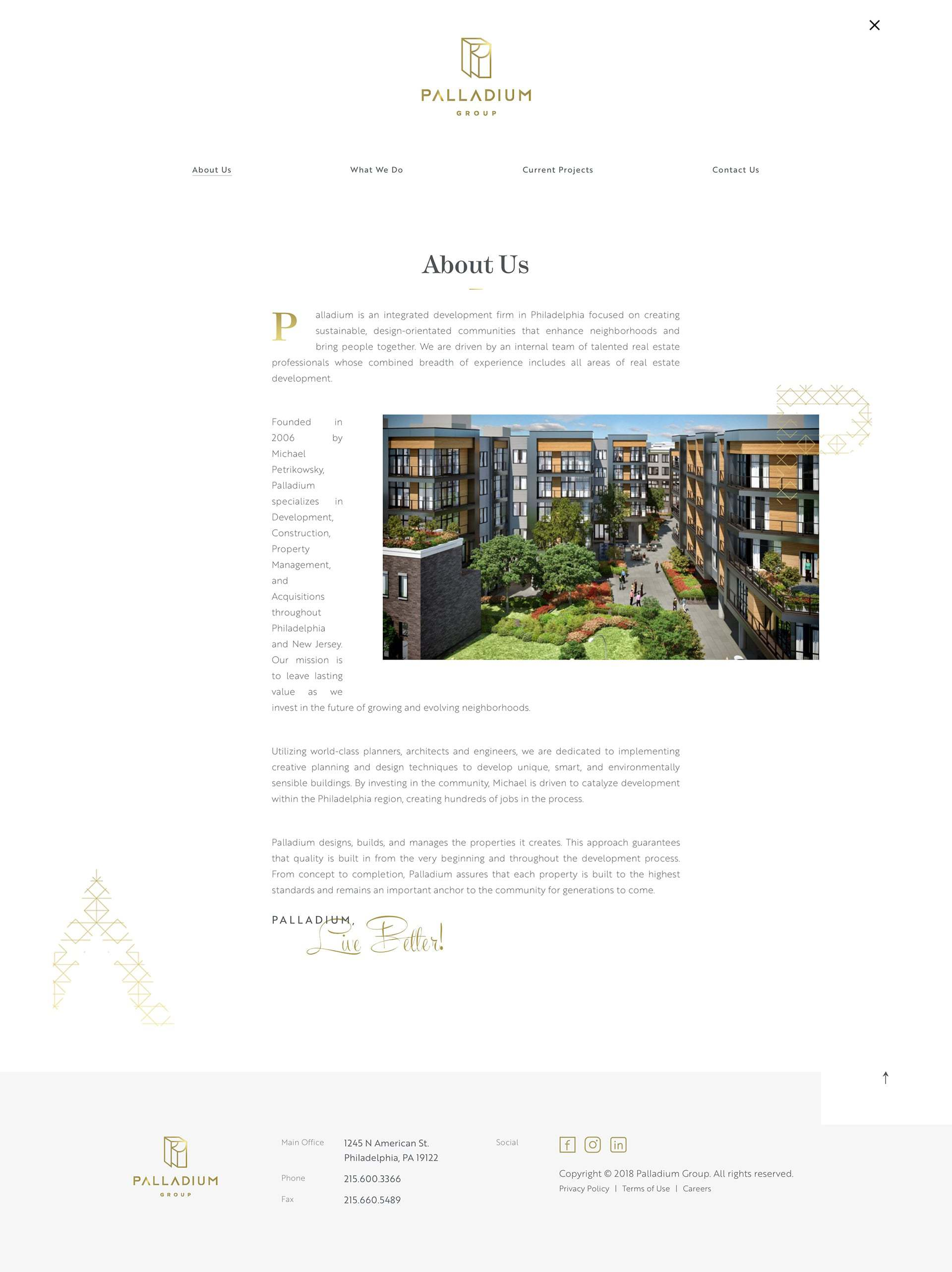 Palladium Web Design