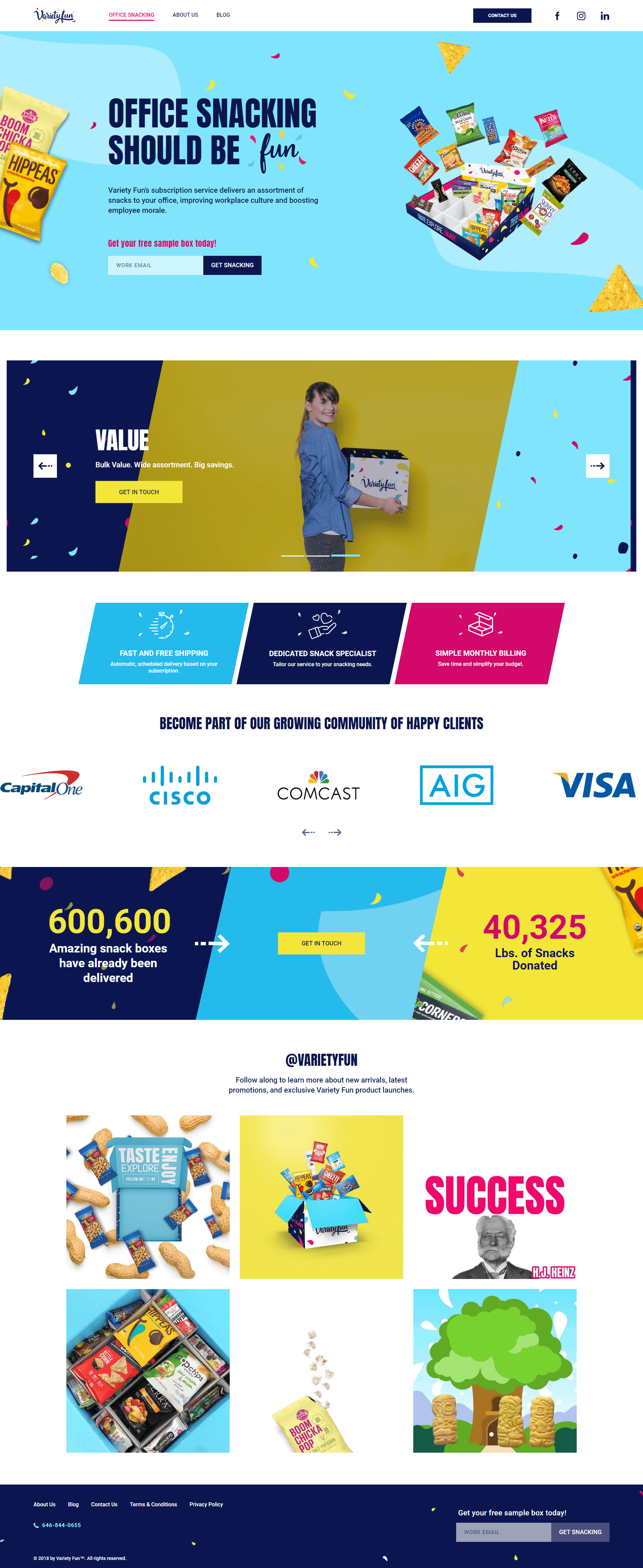 Variety Fun Web Design