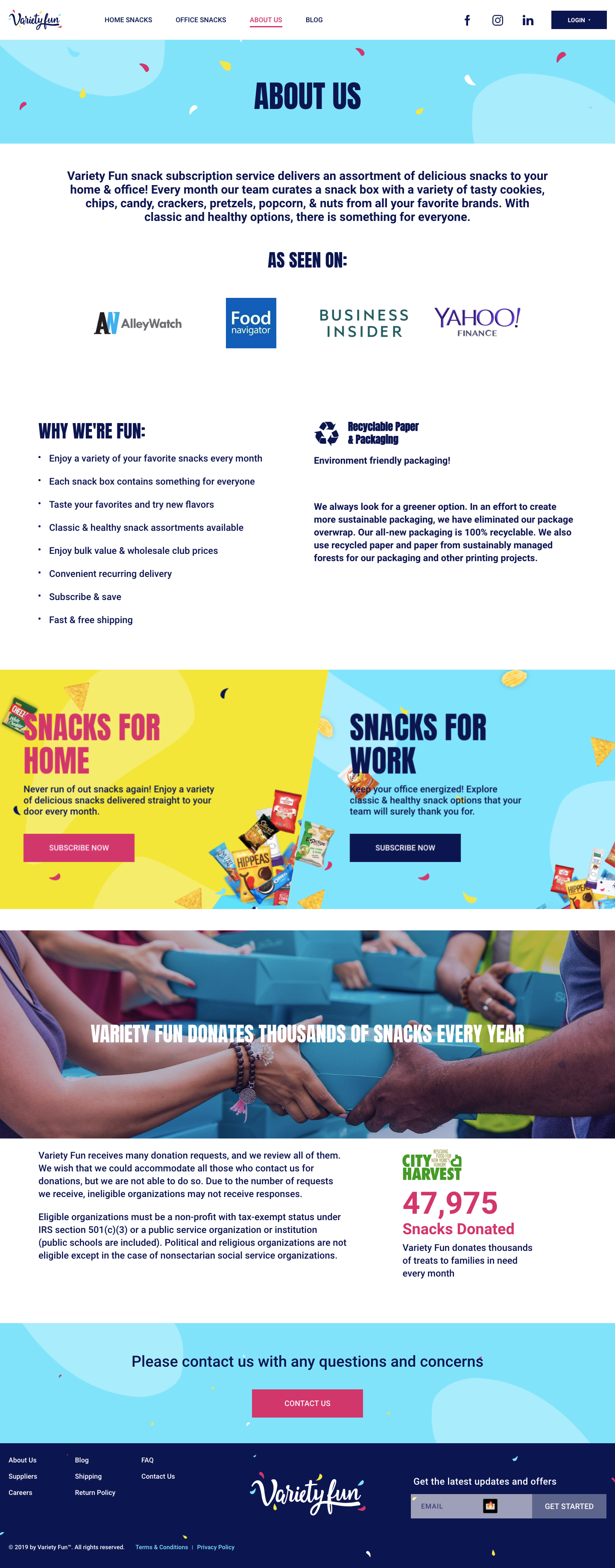 Variety Fun Web Design & Development - BigDropInc com