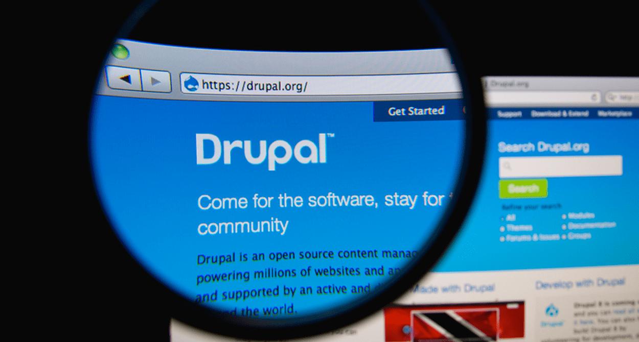 Drupal interface